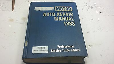 Motor's Auto Repair Manual - Vintage 1983 Ford Chevy Chrysler
