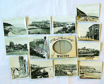12 x vintage snapshots of Whitby