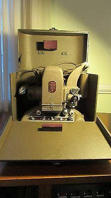 Vintage FILMO 8mm Movie Projector 151A Bell & Howell Picture Master - Tested