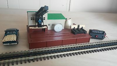 MTH 23796 Sawmill (35-90001) Works with both O Scale & S Scale C-8!