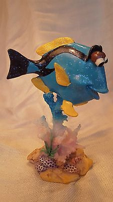 Colorful Tropical Fish Figurine - Palette Surgeonfish/Dory Fish *EUC*