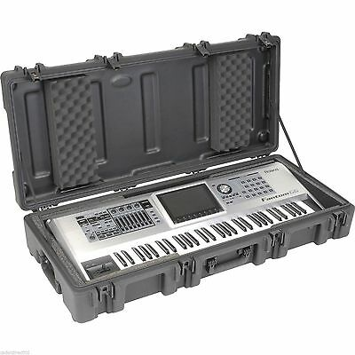 SKB 1R4417W 61 Note Roto Keyboard Case black rugged waterproof mil std mil spec