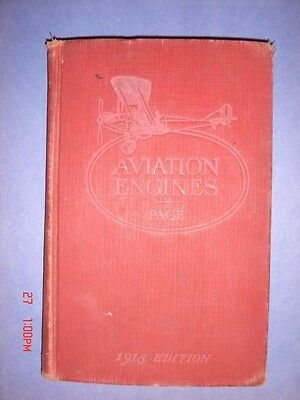 "1919 ""Aviation Engines"" by LT. Victor W. Page ""Censored"" Information (USAAC)"