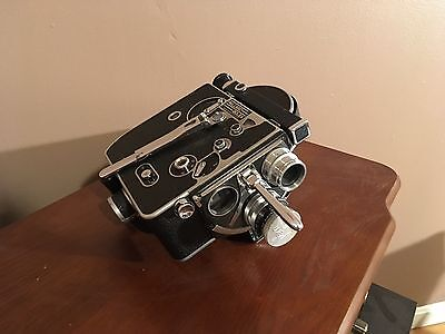 bolex h16 with two lenses