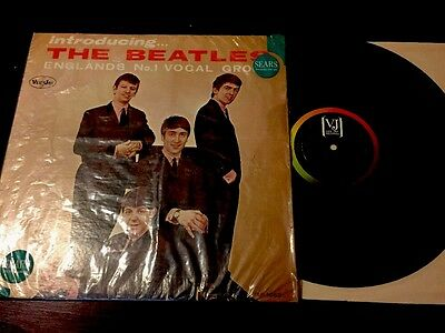 Introducing The Beatles, Superb Nm Cover With Sears Shrink Almost Mint