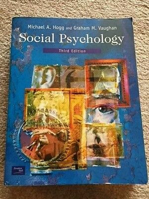Social Psychology Third Edition Hogg Vaughan
