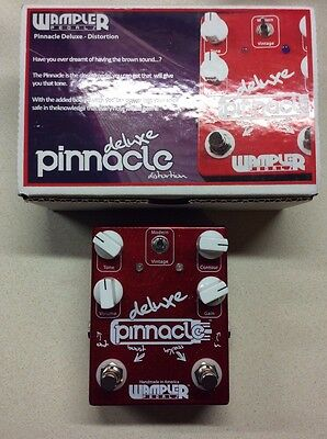 Wampler Pinnacle DeLuxe Boxed Near Mint Overdrive Distortion Boost