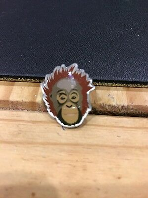 Monkey Orangutan Pin Badge