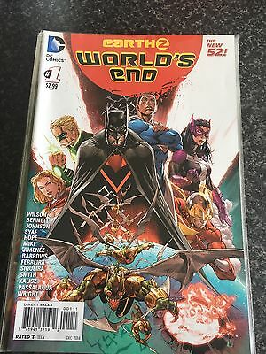 EARTH 2: WORLDS END #s 1-10,12-26 NEW 52 NEAR COMPLETE SET