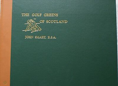 Golf Greens of Scotland John Smart & George Aikman Limited edition slipcase book