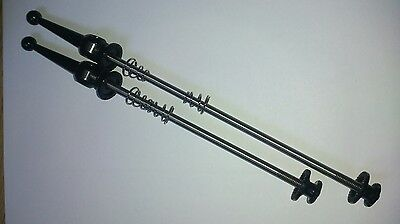 Titanium Ti Skewers 100mm/135mm Quick Release 48g/pair Black 1st Class Delivery