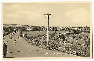 Old Postcard - 'Lifford Co Donegal from Strabane'