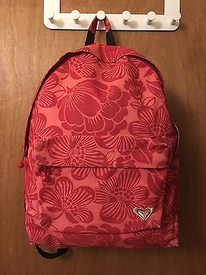 Red Roxy Backpack