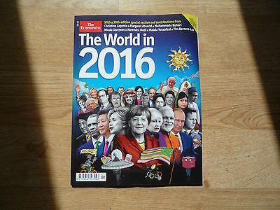 The Economist - The World in 2016 - 30th year special edition