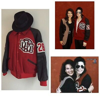 Michael Jackson Owned And Worn Disney Mickey Mouse Varsity Jacket Not Signed