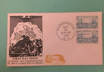 FDC #788 pair   Top Notch Cachet