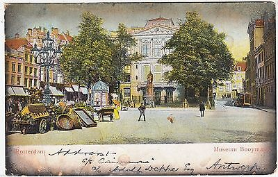 ROTTERDAM - Museum Booymans - Netherlands - 1905 used postcard