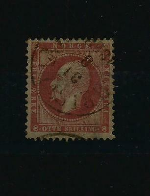 Norway Sg # 11 Fine Used