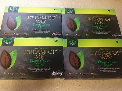4 Boxes of SLIMMING WORLD DARK CHOC MINT HIFI LIGHT BARS - 24 bars