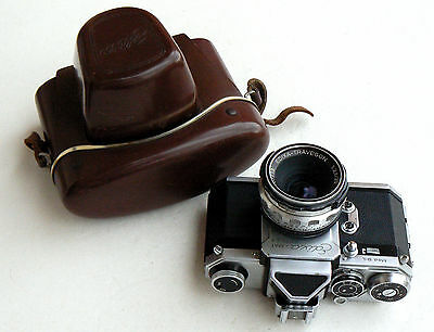 *c1961* ● Wirgin EDIXA-MAT Reflex Mod. B-L SLR  ● M42 Wide TRAVEGON  f3.5 35mm