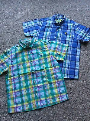 Next Boys Shirts x 2 age 8 years in excellent condition.