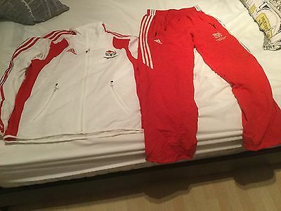 TEAM GB Athlete Issued Commonwealth Games Tracksuit not Olympic Games Adidas Top