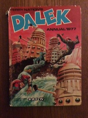 Terry Nation's DALEK Annual 1977 - From BBC's Dr Who