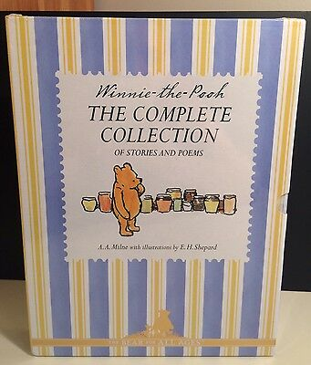Winnie The Pooh The Complete Collection Of Stories And Poems Box Set RRP £40