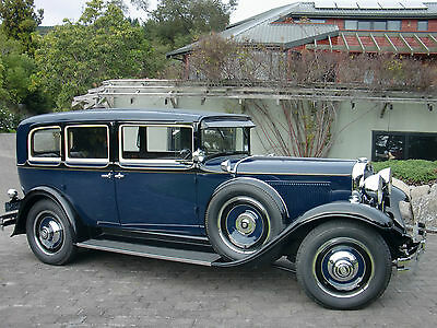 1930 Nash 494 Mohair 1930 Nash 8 Cylinder Twin Ignition 7 Seat saloon
