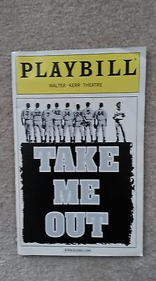 2003 Playbill Take Me Out Walter Kerr Theatre Dennis O'Hare