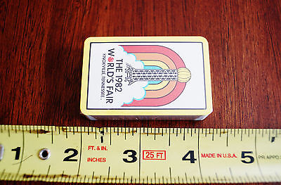 2.5 inch 1982 Worlds Fair Knoxville TN New Playing Cards Sealed
