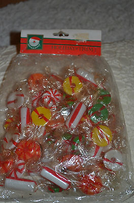 Kurt S Adler Santas World Holiday TRIM GARLAND PAPER WRAPPED PLASTIC Candy
