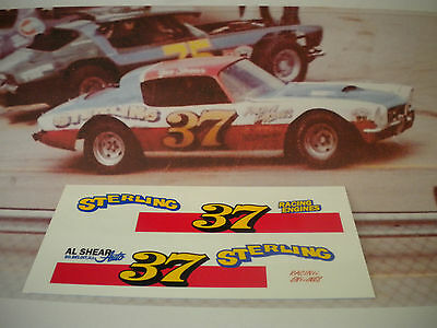 1:25th #37 Dave Watson Joe Shear 1974 Camaro WATERSLIDE DECALS ONLY