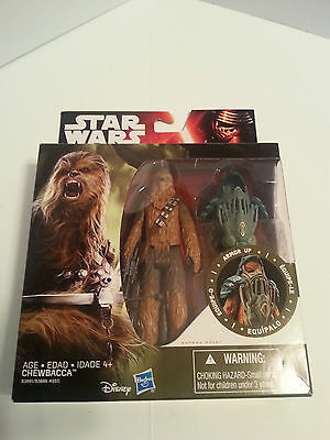 Star Wars The Force Awakens Episode V11 Armor Up Chewbacca 3.75 Inch Figure