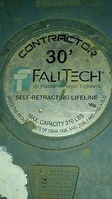 FALLTECH Fall Protection 30-Foot CONTRACTOR Retractable Lifeline