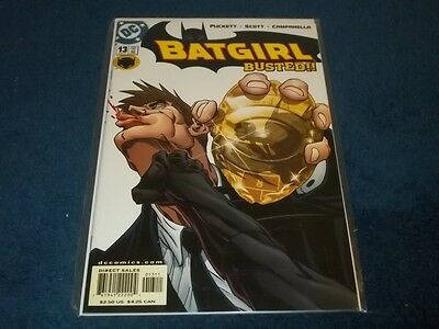Batgirl Busted #13 Comic Book 2001 - Mint Condition