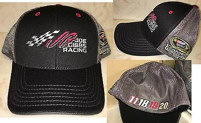 2016 FITMAX JGR Nascar Chase 4 The Cup BUSCH HAMLIN EDWARDS KENSETH TOYOTA Hat