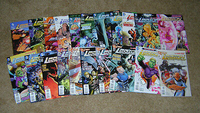 Legion of Super-Heroes #0-20 Complete Set DC 2011 1st Prints VF/NM The New 52