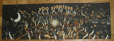Foo Fighters Citi Field 20Th Anniversary Poster 2015 Nyc James R Eads Mets Lmtd