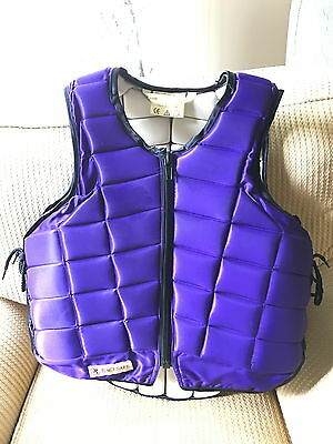 Racesafe Jump Vest Equestrian Body Protector xsmall adults