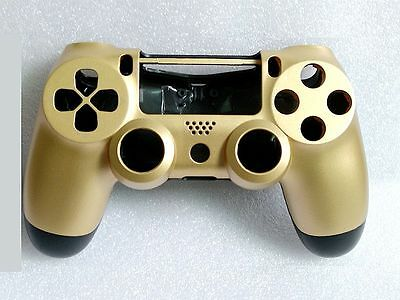 Golden Housing Replacement Shell for Sony PS4 Playstation 4 Wireless Controller