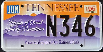 """TENNESSEE """" GREAT SMOKY MOUNTAINS NATIONAL PARK """" TN Graphic License Plate"""