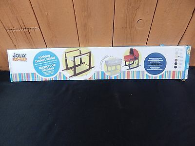 JOLLY JUMPER ROCKING BASKET STAND #260 natural Color for baby nursery fits moses