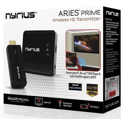 Nyrius ARIES Prime NPCS549 HD 3D Wireless HDMI Transmitter & Receiver ✔NEW✔