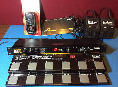 Lexicon JamMan rackmount loop/delay, equipped with JamExpand 18 minute upgrade