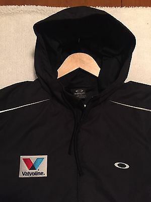 XL Oakley Hooded Jacket Valvoline NHRA Don Schumacher Pit Crew Drag Racing