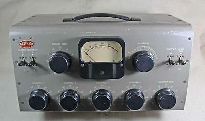 RAYTHEON RP40 Tube Mixer Console Preamp UTC Transformers. Western Electric  RCA
