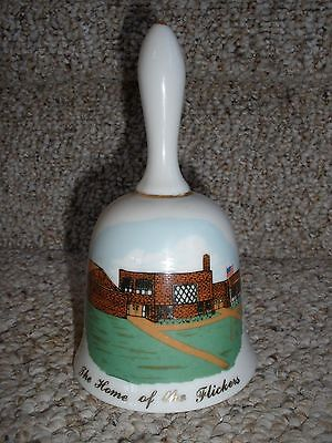 1981 Oriska ND Centennial White Bell Collectible The Home of the Flickers