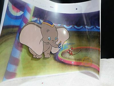 1941 Dumbo Limited Edition Serigraph Cel With Certificate Of Authenticity