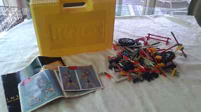Vintage 1995 Knex Box Tons of Pieces and Instruction Booklets